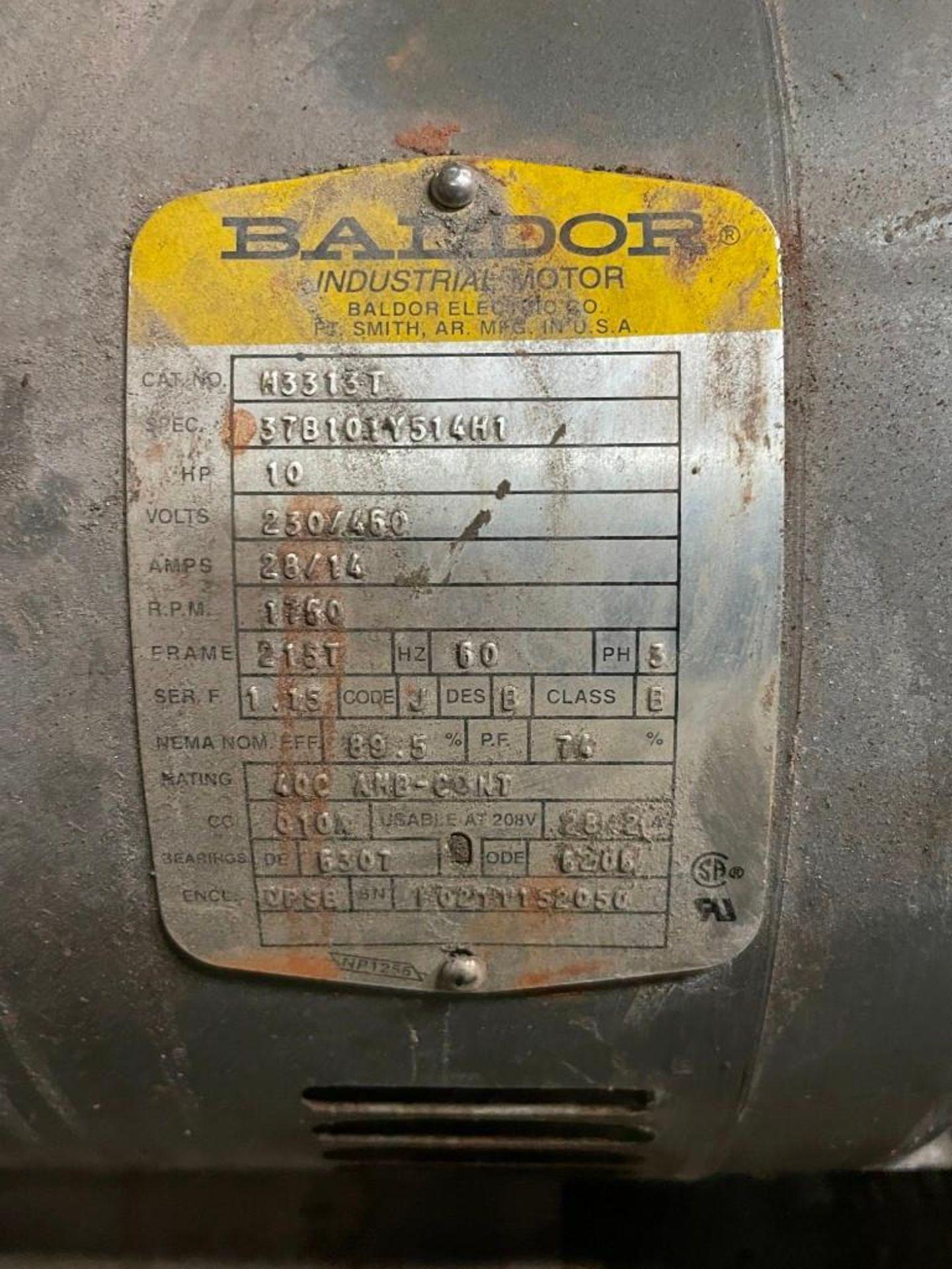 Peerless Pump with 10 Horsepower Baldor Motor - Image 5 of 5