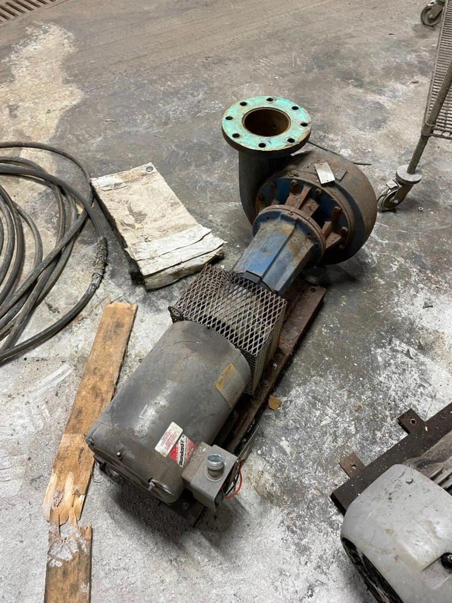 Peerless Pump with 10 Horsepower Baldor Motor - Image 2 of 6