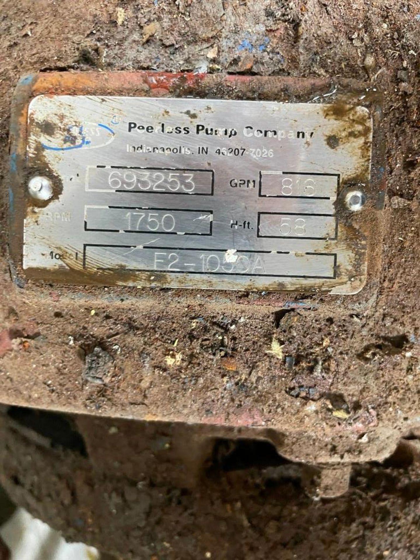 Peerless Pump with 20 Horsepower Siemens Motor - Image 5 of 5