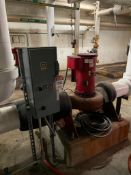 Bell and Gossett Water Pump with Control Panel