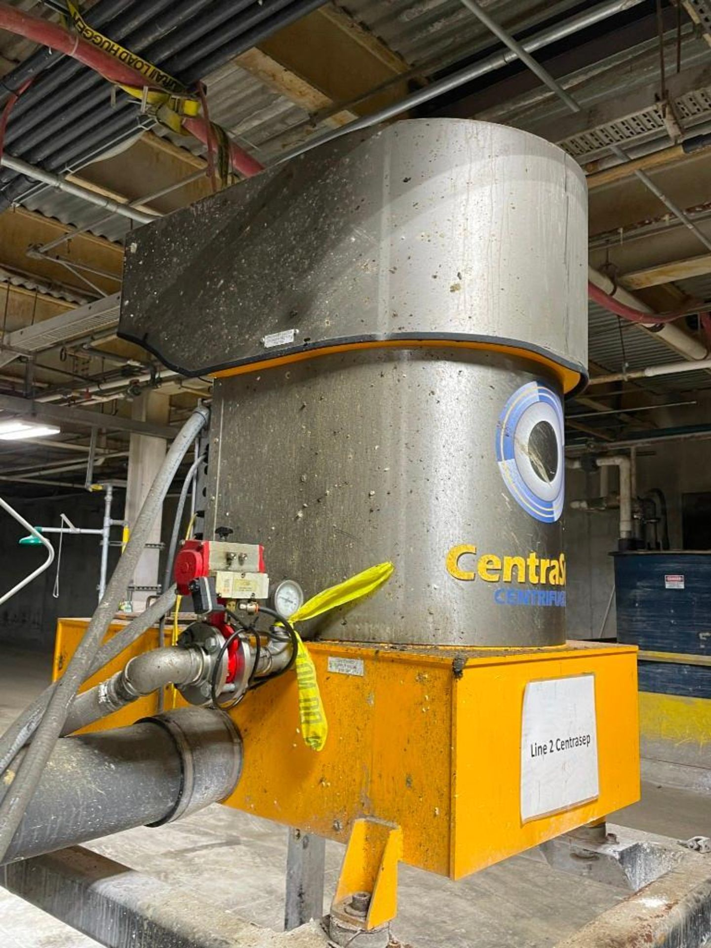 CentraSep Centrifugal Separation 3 Tank Filtration System - Image 7 of 9