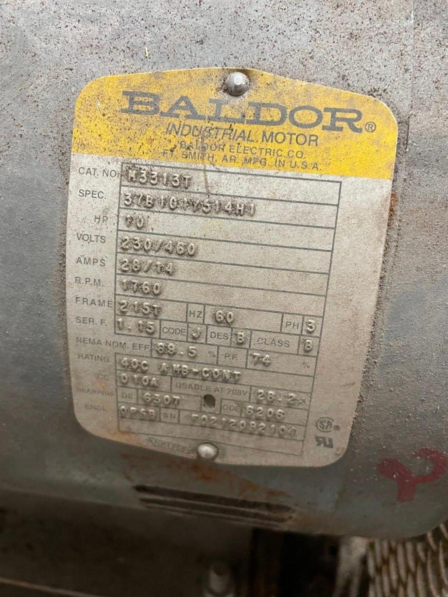 Peerless Pump with 10 Horsepower Baldor Motor - Image 5 of 6