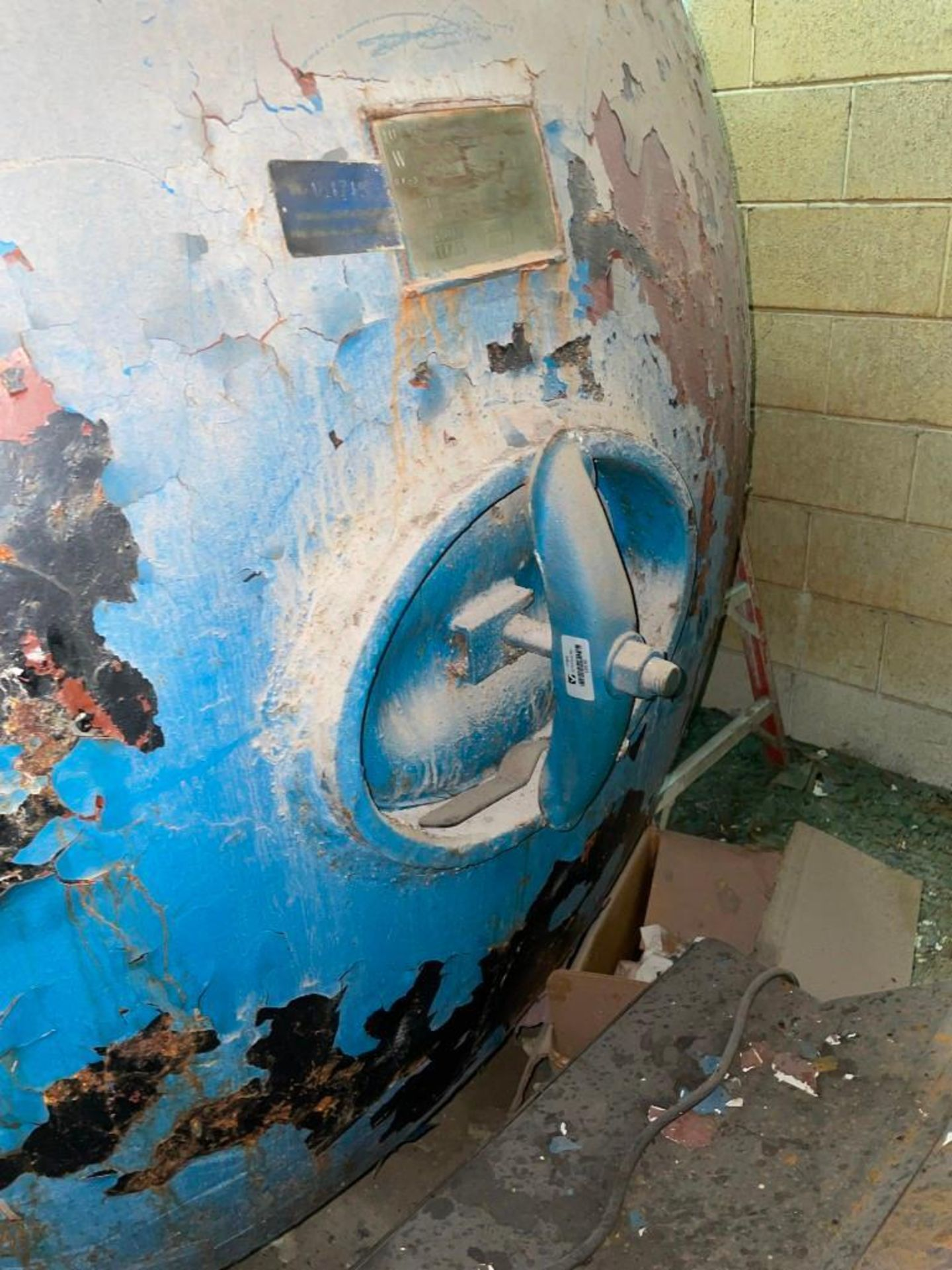 Old Dominion Compressed Air Surge Tank - Image 3 of 6