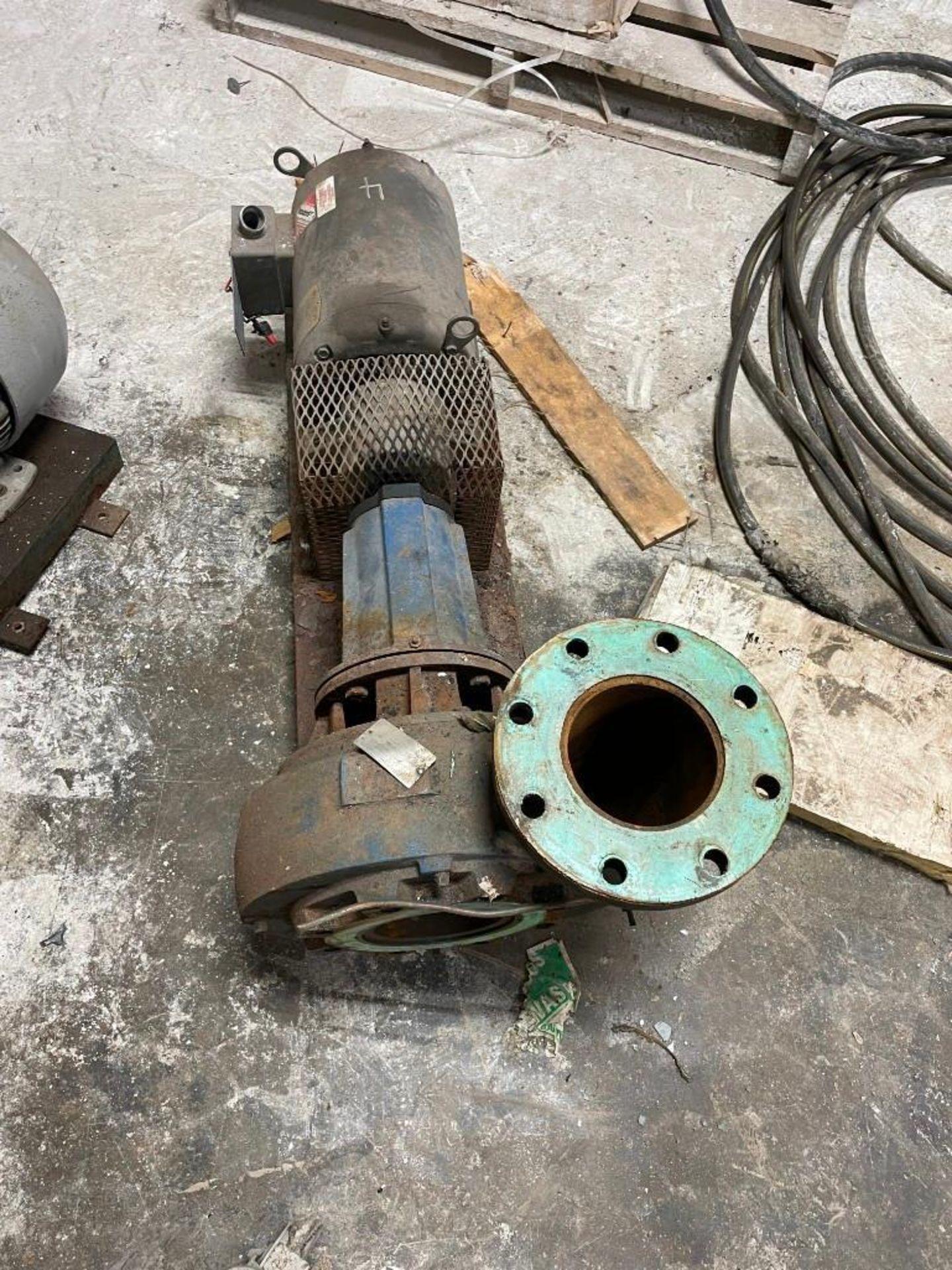 Peerless Pump with 10 Horsepower Baldor Motor - Image 3 of 6