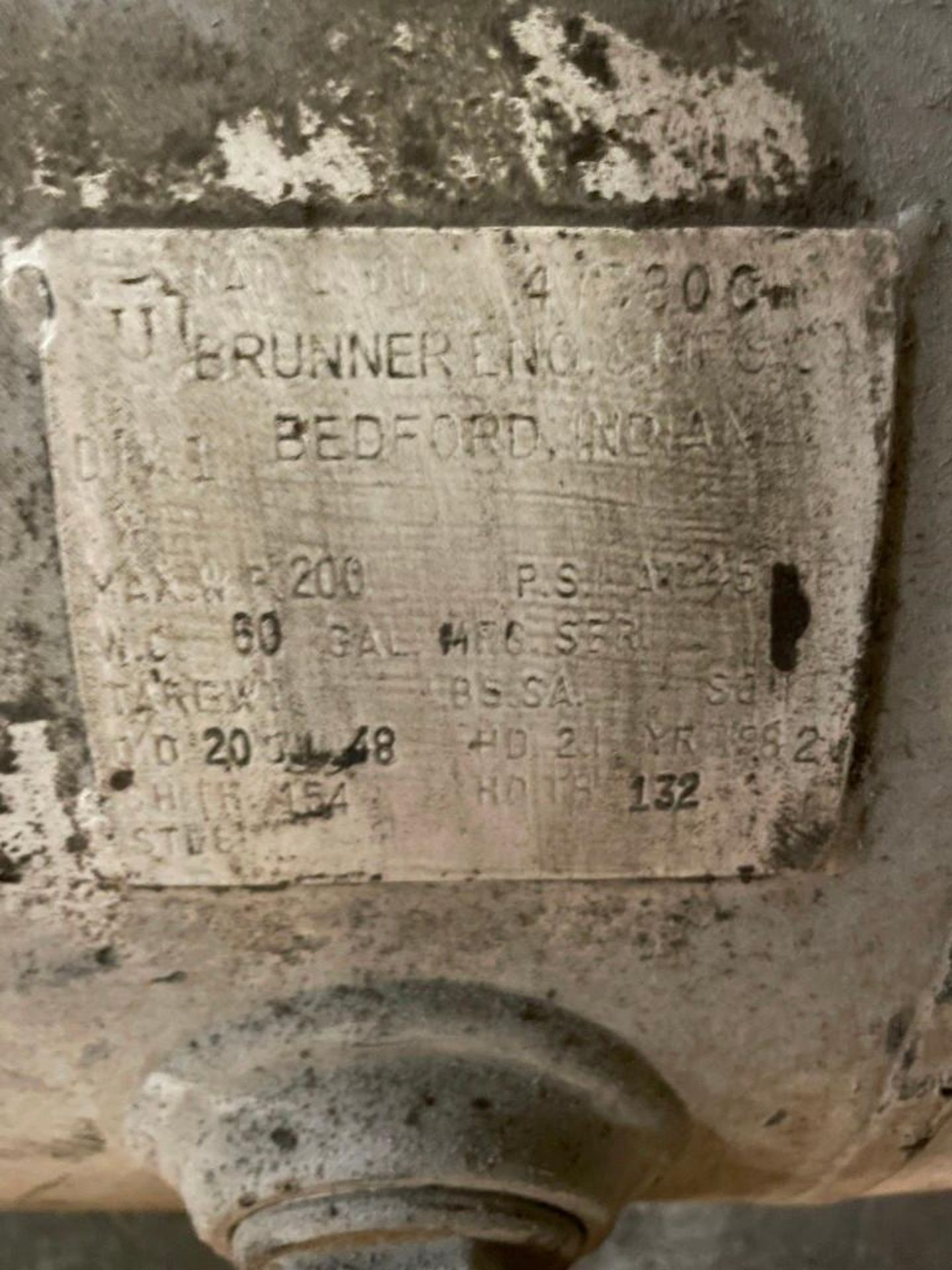 60 Gallon Brunner Air Surge Tank - Image 5 of 5