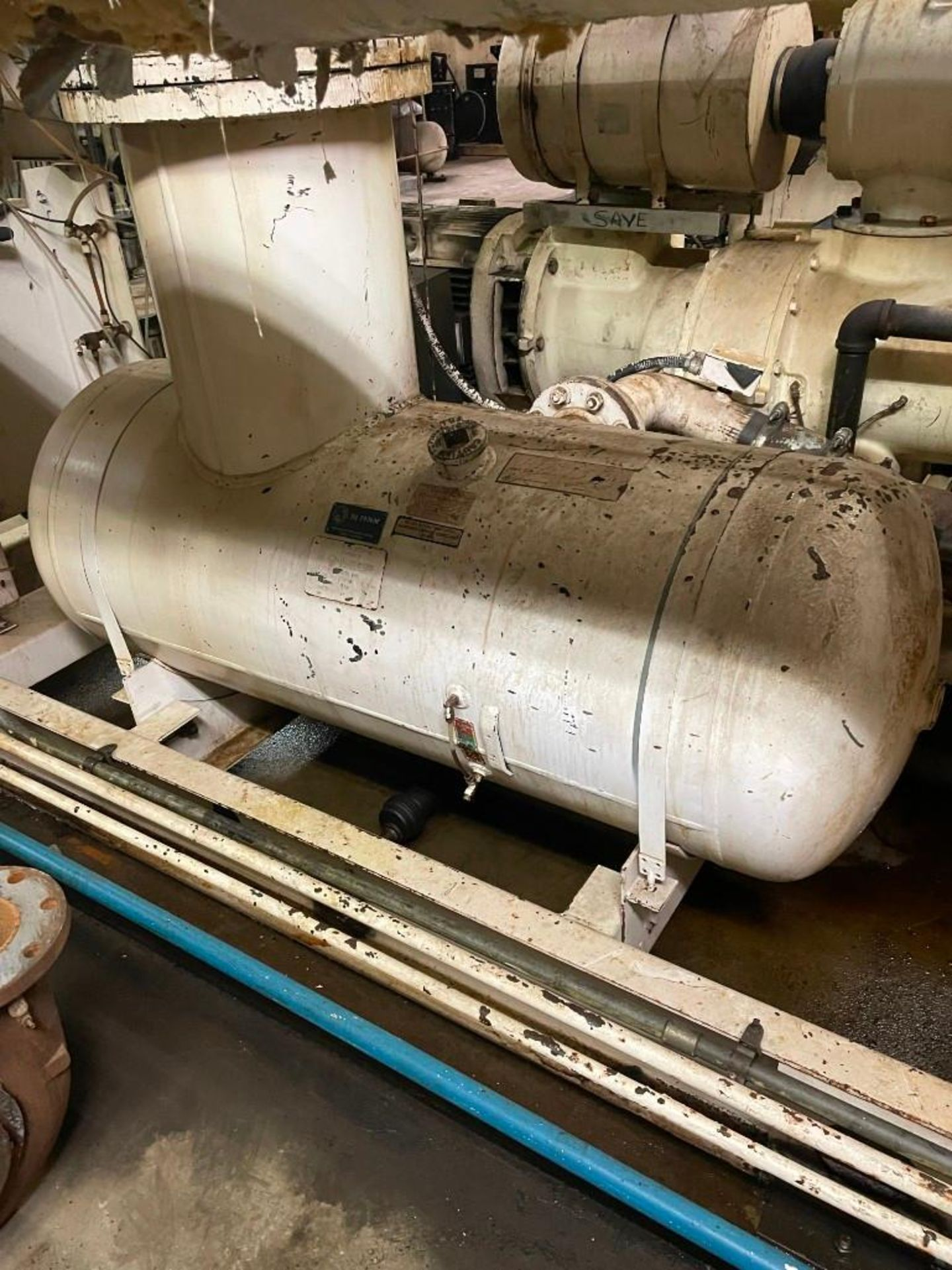Gardner Denver Air Compressor 200 HP Motor - Image 5 of 12