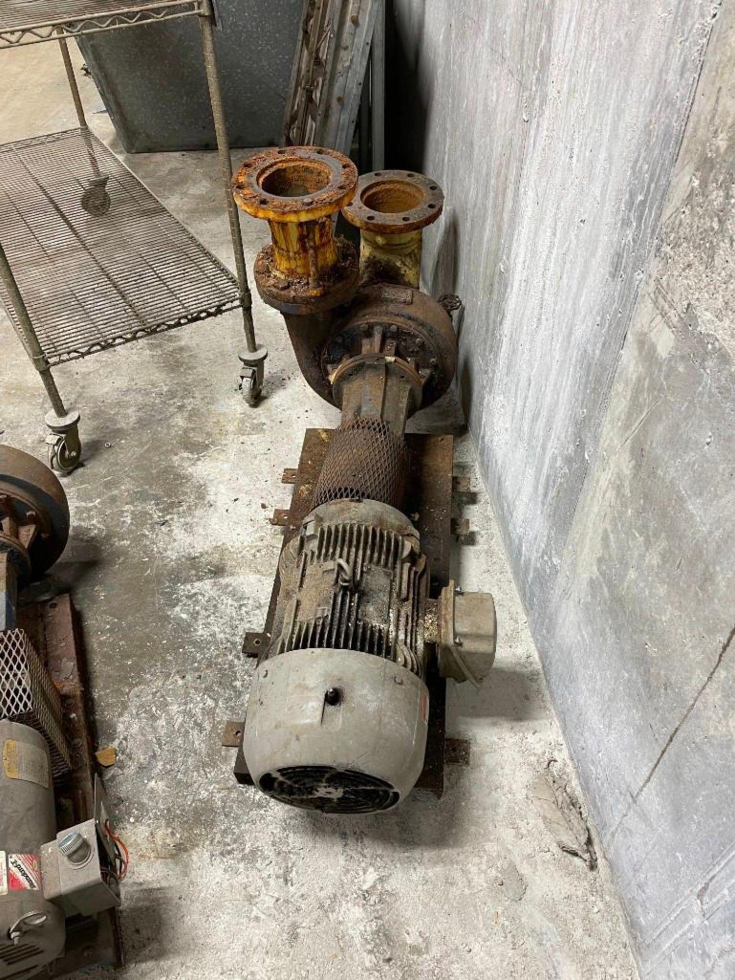 Peerless Pump with 20 Horsepower Siemens Motor - Image 2 of 5