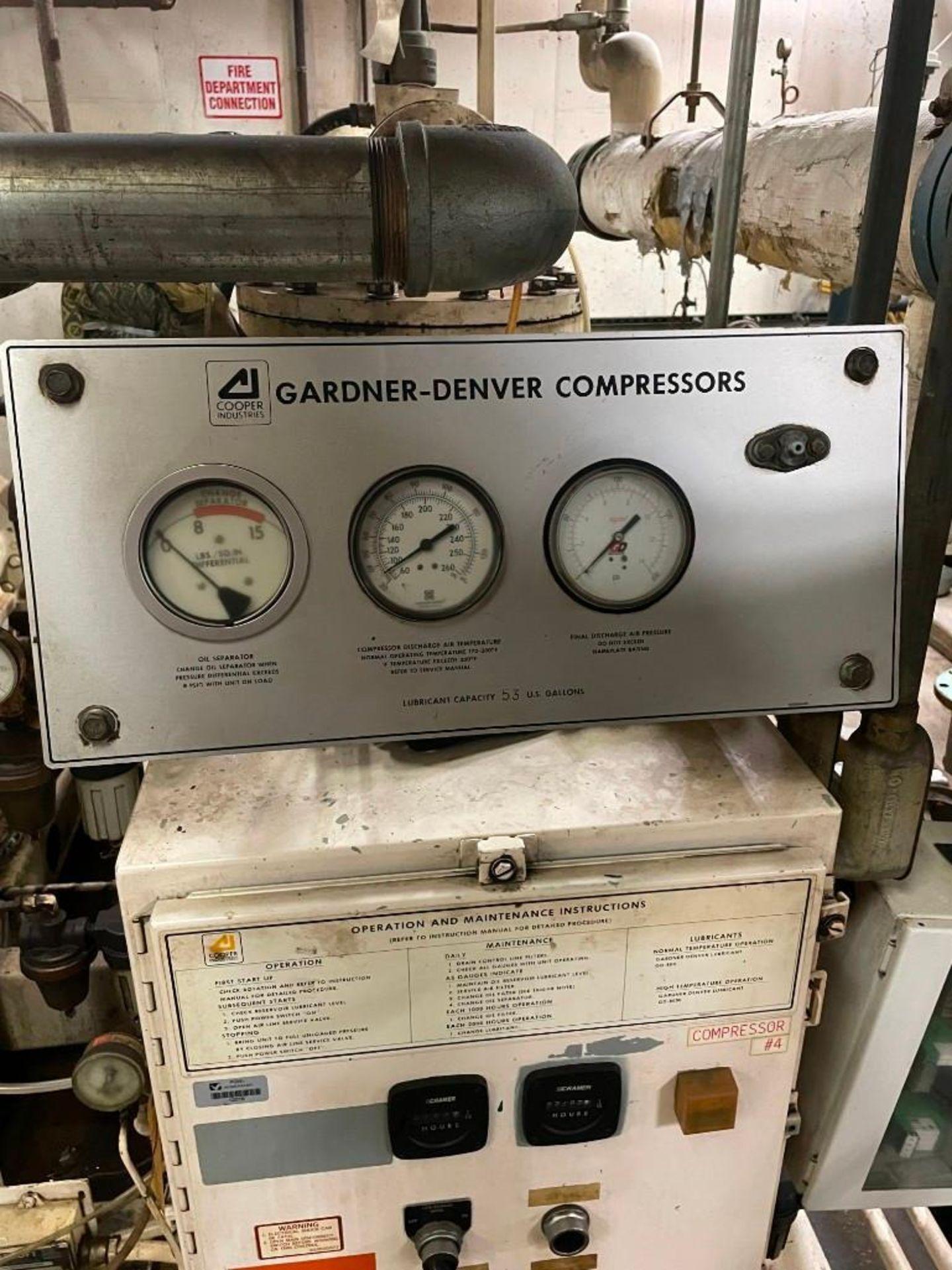 Gardner Denver Air Compressor 200 HP Motor - Image 7 of 12