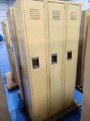 (6) Medart Single Tier Lockers