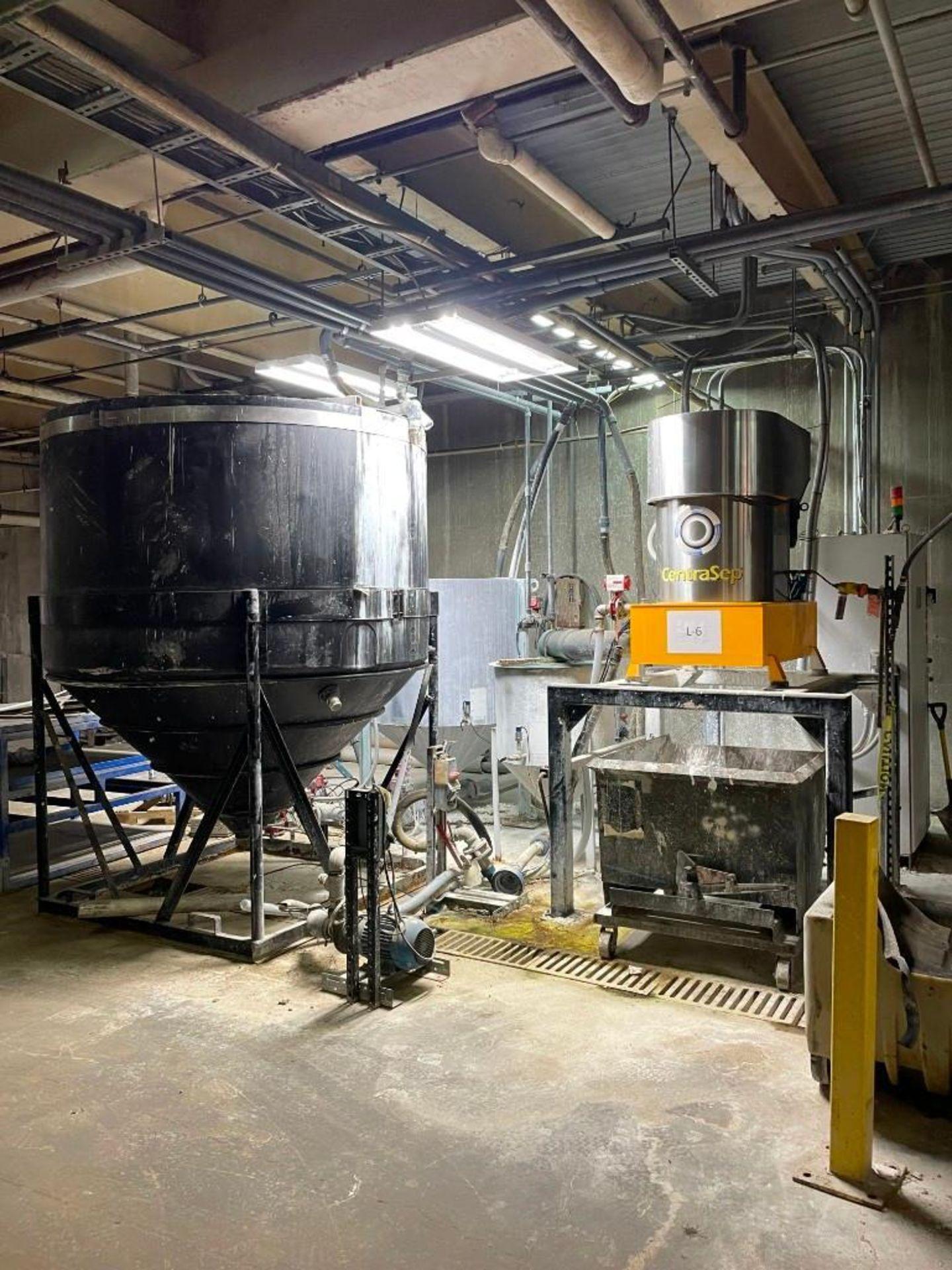 CentraSep Centrifugal Separation 3 Tank Filtration System