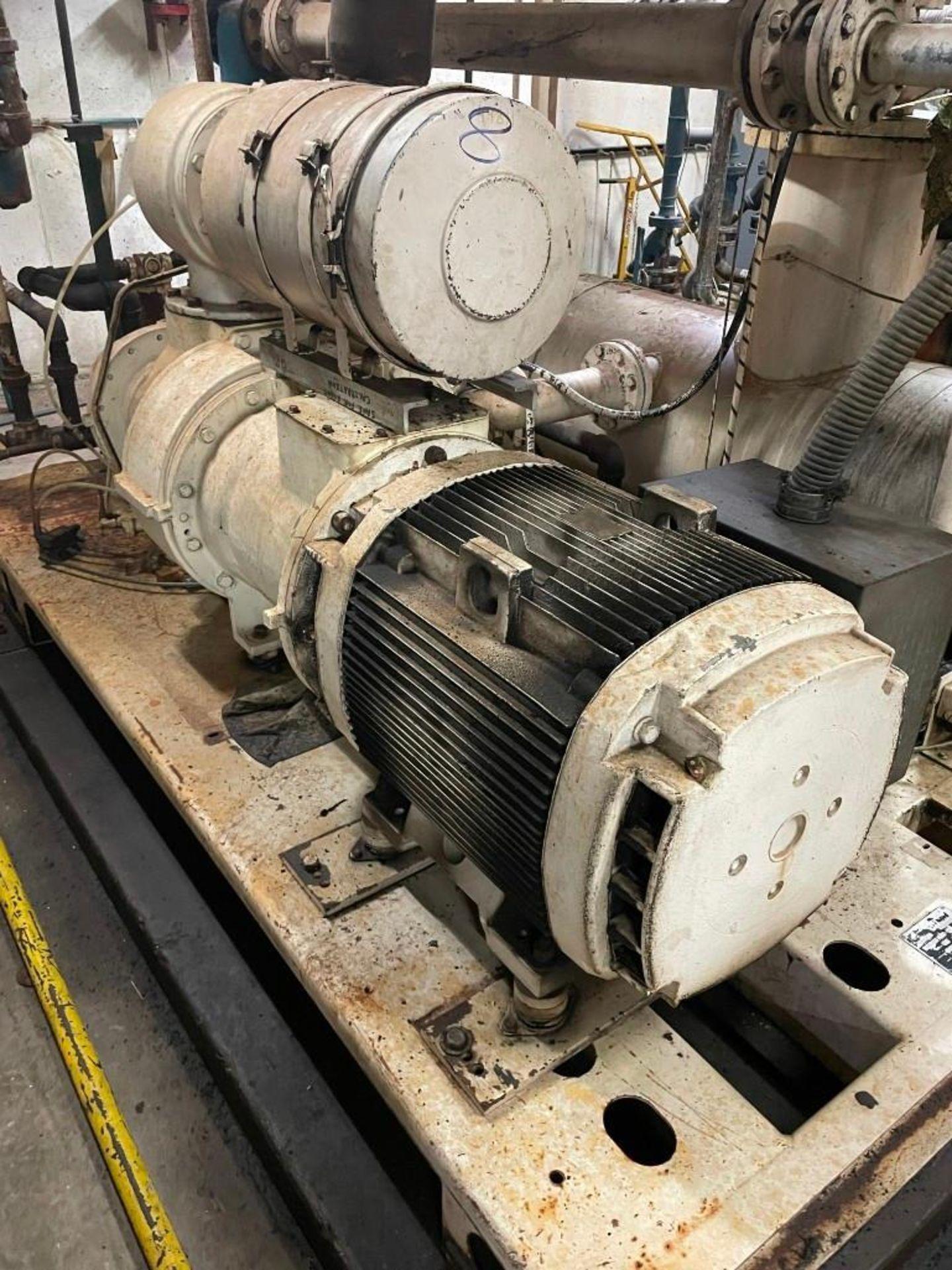 Gardner Denver Air Compressor 200 HP Motor - Image 9 of 12