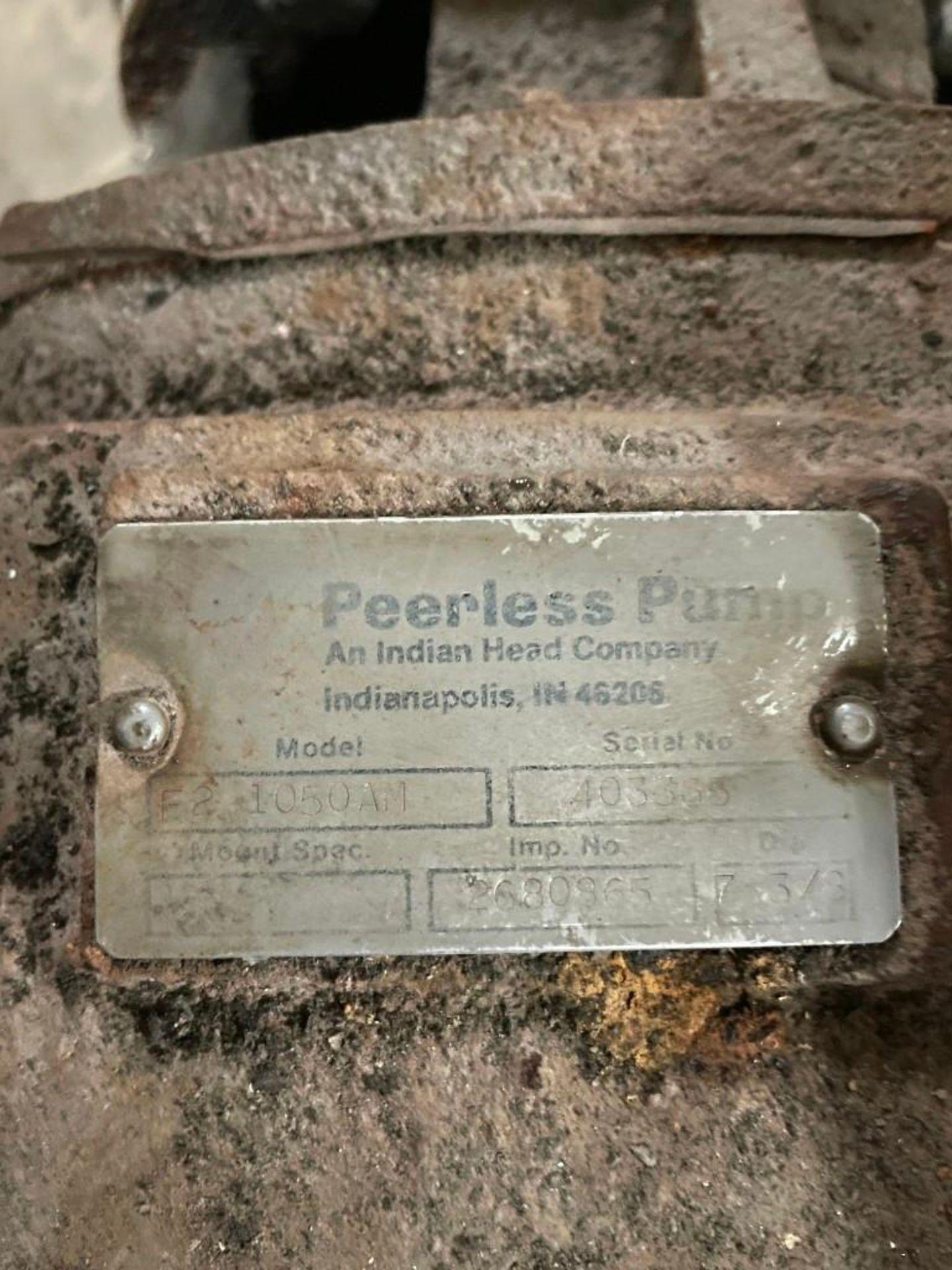 Peerless Pump with 10 Horsepower Baldor Motor - Image 2 of 4