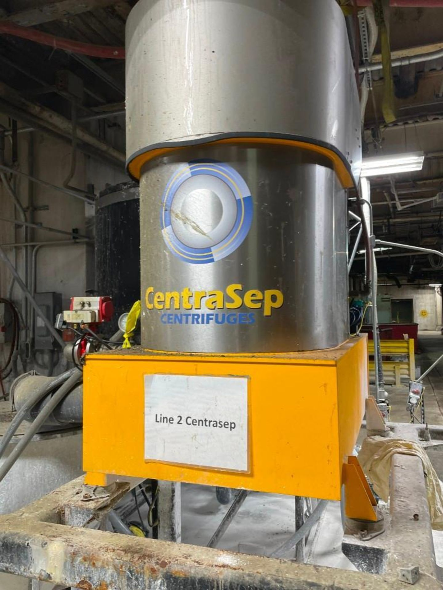 CentraSep Centrifugal Separation 3 Tank Filtration System - Image 6 of 9