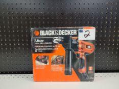 """Black & Decker 7.0 amp 1/2"""" Corded Drill Driver"""