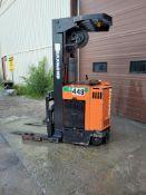 Raymond Electric Reach Truck Mod#30IR40TT, Ser#31E.1606 4000lb with Charger