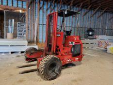 Palfinger 2003 Diesel Hitch Hiker Truck Mounted Forklift Mod# Crayler CR-50 Ser# 41910