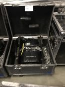 LOT OF: (1) ATLANTA RIGGING SYSTEMS LODESTAR ELECTRIC CHAIN HOISTS RATED FOR 1 TON W/ 75' OF CHAIN