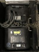 (1) ATLANTA RIGGING SYSTEMS LODESTAR ELECTRIC CHAIN HOIST RATED FOR 2 TON W/ 60' OF CHAIN