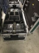 LOT OF: (2) ATLANTA RIGGING SYSTEMS LODESTAR ELECTRIC CHAIN HOISTS RATED FOR 1 TON, BOTH HAVE 60' FE