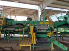 TRI-PAK Onion Grader with Inspection Drum Table