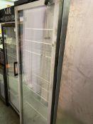 Single Tall Pop Fridge, See Through Door