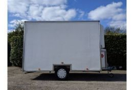Twin Shower 3 Section Trailer Unit Could Be Used For Mobile Dog Grooming