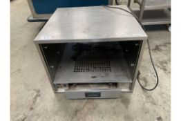 Heated Cabinet open front