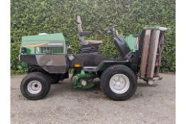 Ransomes Parkway 2250 Triple Ride On Cylinder Mower.