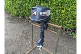 Yamaha 4AC 4hp 2 Stroke Outboard Motor.
