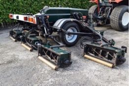 Hayter TM749 Tractor Mount Trailed Cylinder Gang Mower.