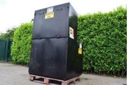 Bunded waste oil tank 1180 litre