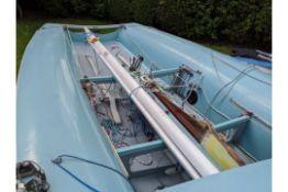 505 Class Sailing Boat 2 Man Racing Dinghy.