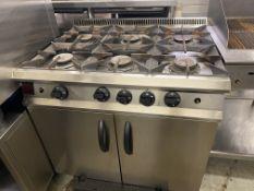Moorwood Vulcan 6 Burner Gas Cooking Range