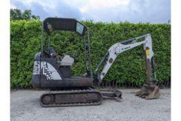 2013 Bobcat E16 1.6 Tonne Mini Digger 2217 Hours