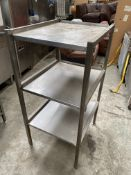 3 Tier Stainless Table