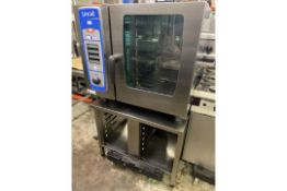 Lincat (Rational) 6 Grid Combie Steamer on Stand