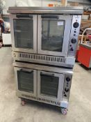 Falcon Dominator twin Stack Double Ovens Gas