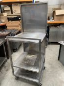 3 Tier Stainless Steel Table