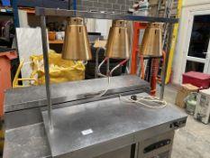 3 Lamp Heated Base Carvery Pad
