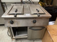Maresno Double Electric Fryer 3 Phase