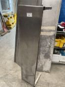 Stainless steel wall shelf with Brackets