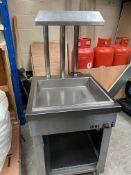 Freestanding Chip Skuttle / Chip Dump Heated Gantry