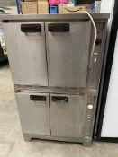 Stot Benham Double Stacked Cooker Ovens