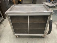 Grundy Hot Cupboard and Tray Slide