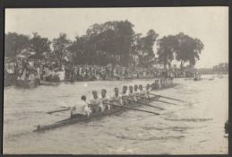THREE ROWING RELATED VINTAGE PHOTOGRAPHS