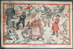 OUR VERSATILE PREMIER DOUBLE PAGE PRINT BY PUNCH 1916