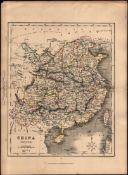 MAP OF CHINA PROPER. BY H.G. COLLINS