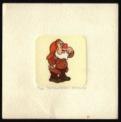 SOWA & REISER ETCHING OF DWARF FROM DISNEY SNOW WHITE LIMITED EDITIONS 60/500