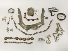 COSTUME JEWELLERY - MOSTLY SILVER