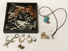 PEARLS, SILVER & OTHER JEWELLERY